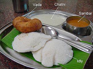 típico desayuno indio